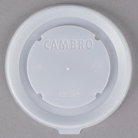 Cambro CLSB9190 Disposable Lid fits Cambro MDSB9110 9 oz. Insulated Bowl for Shoreline Meal Delivery Systems - 1000/Case