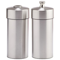 Chef Specialties 29900 Professional Series 5 1/2 inch Futura Stainless Steel Pepper Mill / Salt Shaker