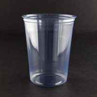 Fabri-Kal Alur RD32 32 oz. Customizable Clear PET Plastic Round Deli Container 50 / Pack