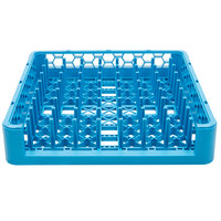 Carlisle ROP14 Opticlean Full Size 19 3/4 inch x 19 3/4 inch x 4 inch Open End Peg Tray Dish Rack