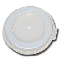 DX40008714 Translucent Disposable Lid for Dinex Heritage 8 oz. Mug and Dinex Heritage 5 oz. Bowl 2000/Case