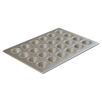 24 Cup Aluminized Steel 1.75 oz. Mini Muffin Pan