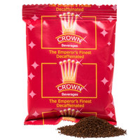 Crown Beverages Emperor's Finest Premium Blend Decaf Coffee - (80) 2 oz. Packets / Case - 80/Case