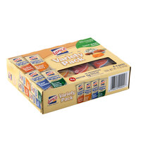 Lance Captain's Wafers Sandwich Crackers 8 Count Variety Pack - 14 / Case