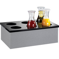 Cal-Mil 707-12 Six Hole Carafe Collar for Cal-Mil 20 inch x 12 inch Ice Housing