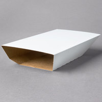 Southern Champion 70300 Clay Coated Kraft Food Tray Sleeves for 3 lb. Food Trays - 250/Case