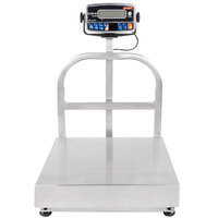 Tor Rey EQB-50/100-W 100 lb. Waterproof Digital Receiving Bench Scale, Legal for Trade