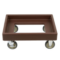 Cambro CD300 Dark Brown Camdolly for Cambro Camtainers and Camcarriers