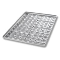Chicago Metallic 40434 96 Mold Glazed Slider Bun Pan