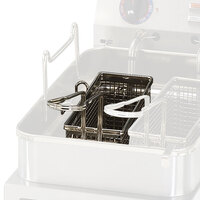 Star 530TBL 11 1/4 inch x 4 inch x 5 inch Twin Fryer Basket with Left Hook