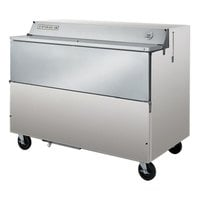 Beverage Air SMF58-S Stainless Steel Forced Air Milk Cooler 1 Sided - 58 inch