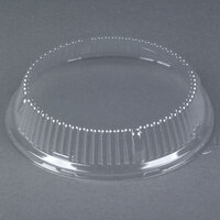 Genpak 94878 9 inch Clear Dome Plate Lid 200 / Case
