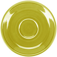 Homer Laughlin 470332 Fiesta Lemongrass 5 7/8 inch Saucer - 12/Case
