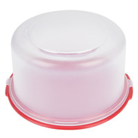 Rubbermaid 1777191 Cake Keeper Cake / Pie Storage Container (FG3900RDWHT)