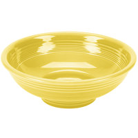 Homer Laughlin 765320 Fiesta Sunflower 2 Qt. Pedestal Serving Bowl - 4 / Case
