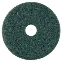 Scrubble by ACS 73-17 17 inch Emerald Hy-Pro Stripping Floor Pad - Type 73