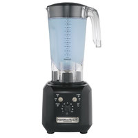 Hamilton Beach HBH450R Tango 1 HP 48 oz. High Performance Bar Blender - 120V