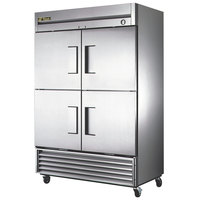 True T-49F-4 55 inch Solid Half Door Reach In Freezer