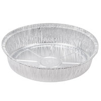 Durable Packaging 260-35-250 10 inch Round Foil Pan - 250/Case
