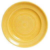 Tuxton CSA-074 Concentrix 7 1/2 inch Saffron China Plate - 24 / Case