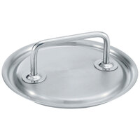 Vollrath 47780 Intrigue 6 5/16 inch Stainless Steel Cover with Loop Handle