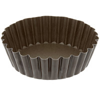 4 inch Non-Stick Tart / Quiche Pan Deep Design with Removable Bottom