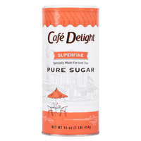 Superfine Bar Sugar 16 oz. Canister