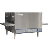 Lincoln 2500 Series Countertop Impinger (DCTI) Electric Conveyor Oven with Digital Controls and Standard 31 inch Belt - 240V, 6 kW