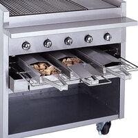 Bakers Pride 21884847-24R Radiant Charbroiler Stainless Steel Smoke Box