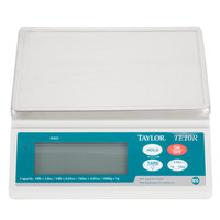 Taylor TE10R 10 lb. Digital Portion Control Scale with Hold Feature