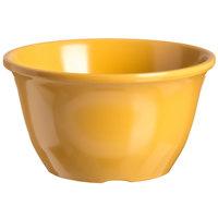 Carlisle 4305022 Durus 7 oz. Honey Yellow Melamine Bouillon Cup - 48/Case