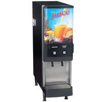 Bunn 37900.0025 JDF-2S 2 Flavor Cold Beverage Juice Dispenser with Dual Dispense