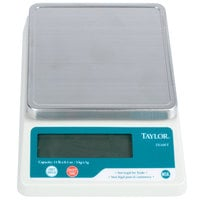 Taylor TE10FT 11 lb. Compact Digital Portion Control Scale