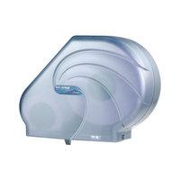 San Jamar R3090TBL Reserva Oceans 9 inch-10 1/2 inch Jumbo Toilet Tissue Dispenser - Arctic Blue