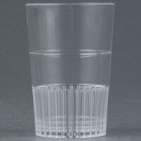Fineline Quenchers 4115-CL 1.5 oz. Clear Hard Plastic Shooter Glass 500 / Case