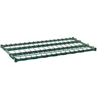 Metro 2448DRK3 48 inch x 24 inch Metroseal 3 Heavy Duty Dunnage Shelf with Wire Mat - 1300 lb. Capacity