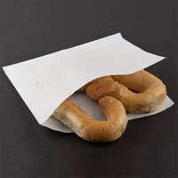 Choice 7 inch x 6 1/2 inch Pretzel Bag - 1000 / Case