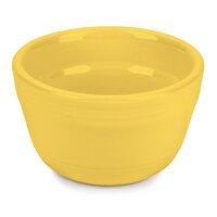 Tuxton CSB-0752 Concentrix 7.5 oz. Saffron China Bouillon Cup - 24 / Case
