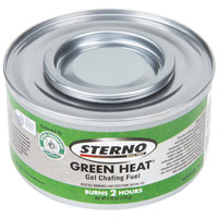 Sterno Products 20112 Green Heat Chafing Dish Fuel - 2 Hour - 72 / Case