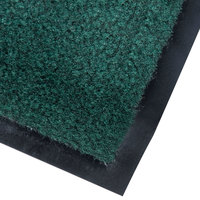 Cactus Mat 1437M-G41 Catalina Standard-Duty 4' x 10' Green Olefin Carpet Entrance Floor Mat - 5/16 inch Thick