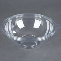 Fineline Super Bowl 5048-CL 48 oz. Clear Plastic Bowl - 50 / Case
