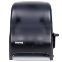 San Jamar T1100TBK Classic Lever Roll Towel Dispenser - Black Pearl