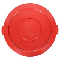 32 Gallon Red Trash Can Lid