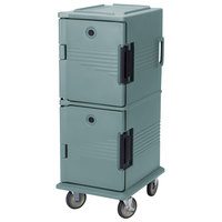 Cambro UPC800SP401 Slate Blue Camcart Ultra Pan Carrier - Front Load Tamper Resistant