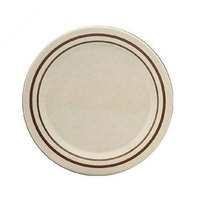 9 inch Beige Arcadia Round Melamine Plate - 12/Case