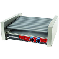 Star Grill Max Express X30 30 Hot Dog Roller Grill with Chrome Plated Rollers