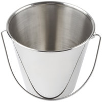 American Metalcraft SSP35 Mini Stainless Steel Pail - 3 1/2 inch x 3 7/8 inch