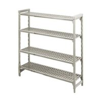 Cambro Camshelving Premium CPU246072V5480 Shelving Unit with 5 Vented Shelves 24 inch x 60 inch x 72 inch