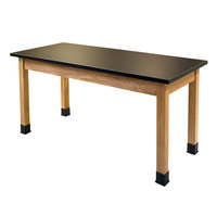 National Public Seating SLT2472-36 24 inch x 72 inch Science Lab Table - 36 inch Height