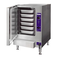 Cleveland 22CET6.1 SteamChef 6 Pan Electric Countertop Steamer - 240V, 1 Phase, 12 kW